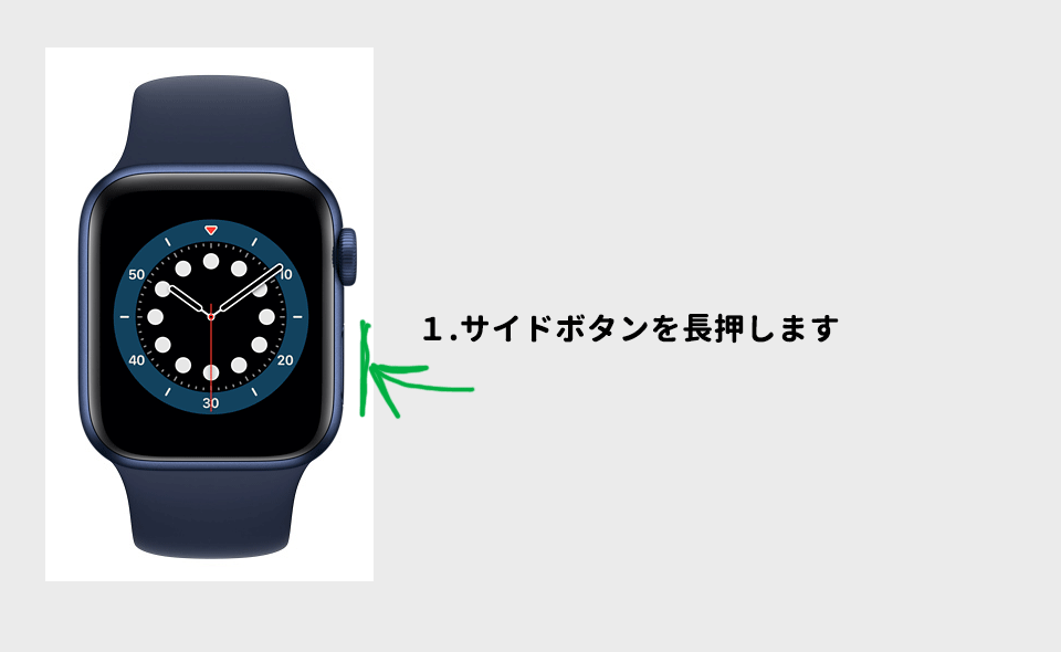AppleWatch再起動