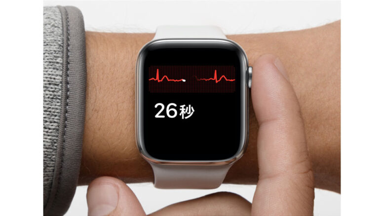 Apple Watch 心電図app